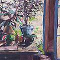 Studio Window by Geoffrey Haun