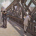 Study For Le Pont De L Europe by Gustave Caillebotte