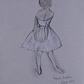 Study Of Degas Ballet Dancer by Jennifer Apffel