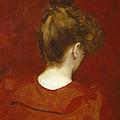 Study Of Lilia by Charles Emile Auguste Carolus Duran