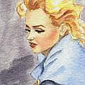 study of Marilyn Monroe by Jingfen Hwu