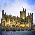 Stunning Beauty Of Bath Abbey At Dusk by Mark Tisdale