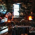 Sturbridge Village Blacksmith by Scott Thorp
