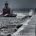 Sturgeon Bay After The Storm by Joan Carroll