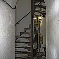 Sturgeon Point Lighthouse Spiral Staircase by LeeAnn McLaneGoetz McLaneGoetzStudioLLCcom