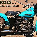 Sturgis Motorcycle Rally by John Malone