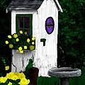 Stylish Outhouse by Bruce Nutting