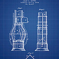 Submarine Telescope Patent From 1864 - Blueprint by Aged Pixel