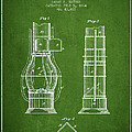 Submarine Telescope Patent From 1864 - Green by Aged Pixel