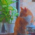 Suburban Jungle Cat by JoLen Confer