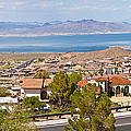 Suburbs And Lake Mead With Surrounding by Panoramic Images