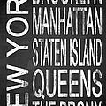 Subway New York 4 by Melissa Smith