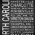 Subway North Carolina State 1 by Melissa Smith