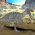 Suchomimus Dinosaur by Friedrich Saurer