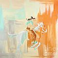 Sudden Burst Of Paint by Patty Stern