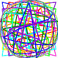 Sudoku Connections White Spherize by Ron Brown