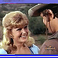Sue Green Mark Slade The High Chaparral 1966 Pilot Screen Capture Collage 1966-2012 by David Lee Guss