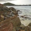 Sugar Bay Rocks by Eyzen M Kim