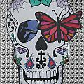 Sugar Candy Skull Pattern by Karen Larter