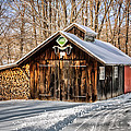 Sugar Shack - Southbury Connecticut by Thomas Schoeller