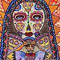 Sugar Skull Angel Heart' by Sandra Silberzweig