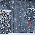 Sugarhouse At Christmas by Alan L Graham