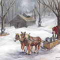 Sugaring Time Again by Gregory Karas