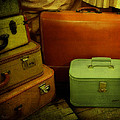 Suitcases In The Attic by Mary Machare