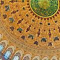Suleiman Mosque Interior 08 by Antony McAulay