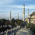 Suleymanhe Mosque, The Bizaar Quarter by Francesca Yorke