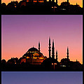 Suleymaniye Sundown Triptych 04 by Rick Piper Photography