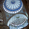 Sultan Ahmed Camii Blue Mosque Istanbul Turkey by Dray Van Beeck