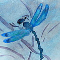 Sumi Dragonfly by Beverley Harper Tinsley
