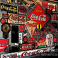 Sumi-e Styled Coca Cola Signs by Marian Bell