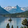 Summer At Glacier National Park by John M Bailey