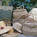Summer Baskets And Hats by Florinel Nicolai Deciu