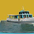 Summer Boat Ride 02 Walt Disney World by Thomas Woolworth