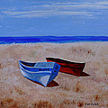 Summer Boats by Van Bunch