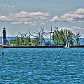 Summer Breeze From Lasalle Park by Michael Frank Jr