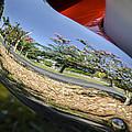 Summer Car Show Reflection by Carolyn Marshall