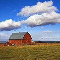 Summer Clouds Over Farm Country I by Buddy Mays