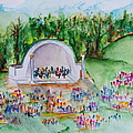 Summer Concert In The Park by Elaine Duras