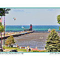 Summer Day At South Haven Mi by Jack Schultz