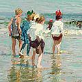 Summer Day Brighton Beach by Edward Henry Potthast