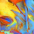 Summer Eucalypt Abstract 29 by Margaret Saheed
