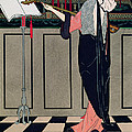 Summer Evening Wear From Art Gout Beaute by Georges Barbier