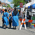 Summer Festival In Berne Indiana II by Suzanne Gaff