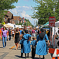 Summer Festival In Berne Indiana by Suzanne Gaff