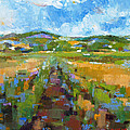 Summer Field 1 by Becky Kim
