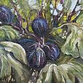 Summer Figs II by Patricia  Cluche